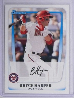SOLD 6773 2011 Bowman Prospets Bryce Harper Rookie RC #BP1 *64898