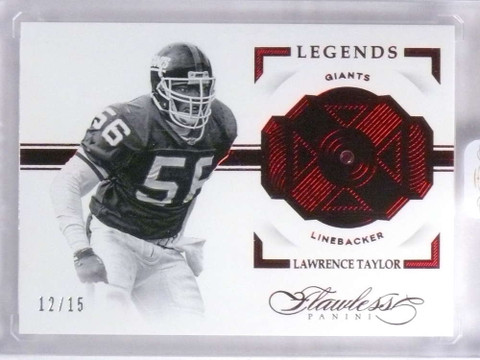 2016 Panini Flawless Legends Ruby Lawrence Taylor #D12/15 #121 *68153