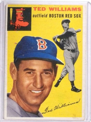 DELETE 14920 1954 Topps Ted Williams #250 VG *68349