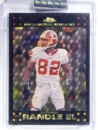 SOLD 15148 2007 Topps Chrome Antwaan Randle El Superfractor #D 1/1 *68635