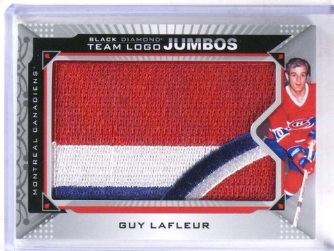SOLD 15811 2015-16 Upper Deck Black Diamond Team Logo Jumbos Guy Lafleur #TLMC-GL *69194