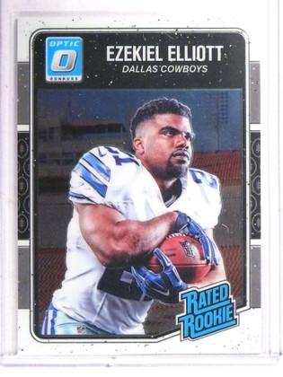 2016 Panini Optic Ezekiel Elliott rc rookie #168 *69445