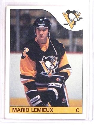SOLD 16740 1985-86 Topps Mario Lemieux rc rookie #9 EX *69691