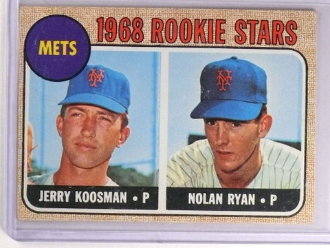 SOLD 16948 1968 Topps Nolan Ryan rc rookie #177 EX METS *69960
