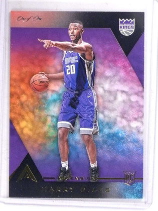 2017-18 Panini Ascension Black Parallel Harry Giles rc rookie #D 1/1 *69836