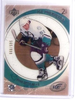 SOLD 17946 2005-06 Upper Deck Ice Ryan Getzlaf Rookie RC #D565/999 #107 *70906