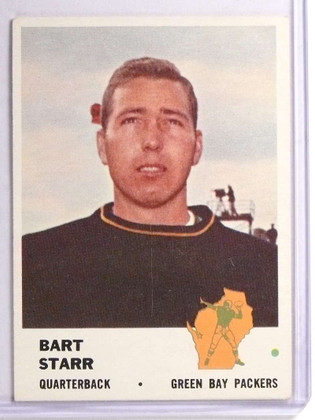 1961 Fleer Bart Starr #88 VGEX *71057