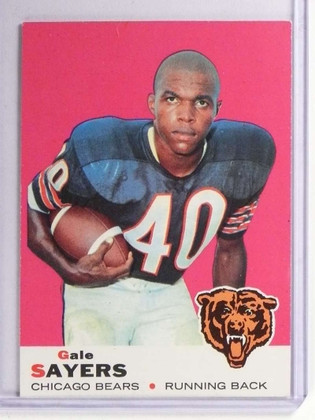1969 Topps Gale Sayers #51 EX *71161
