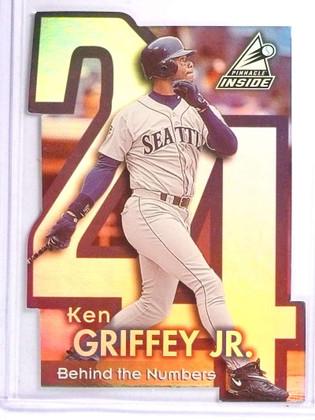 1998 Pinnacle Inside Behind the numbers Ken Griffey jr. #1 *71490 ID: 18532