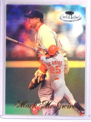 1998 Topps Gold Label Class 1 Black Mark Mcgwire 15 71726