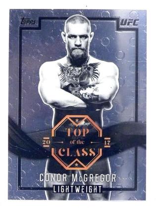 2017 Topps CHrome UFC Top of the Class Conor McGregor #TCCM *71662