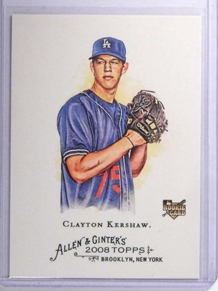2008 Topps Allen & Ginter Clayton Kershaw rc rookie #72 *72107