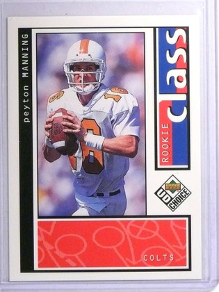 1998 Upper Deck UD Choice Peyton Manning rc rookie #193 *72169