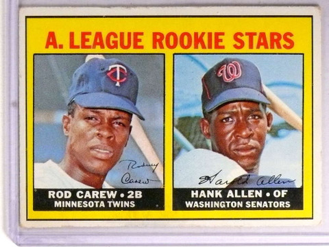SOLD 19559 1967 Topps Rod Carew rc rookie #569 VG *72226