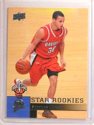 SOLD 19619 2009-10 Upper Deck Stephen Curry rc rookie #234 *72269