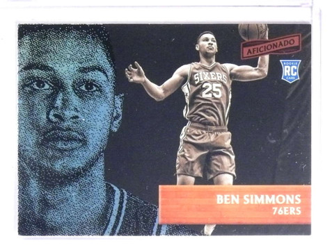 2016-17 Panini Aficionado Ben Simmons rc rookie #35 *72337