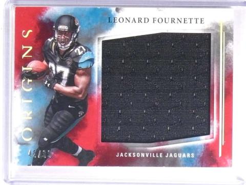 SOLD 19635 2017 Panini Origins Leonard Fournette jumbo jersey rc rookie #d45/99 *72362
