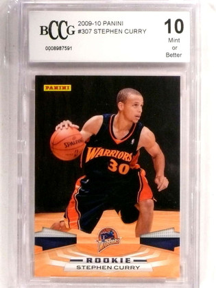 DELETE 20046 2009-10 Panini Stephen Curry rc rookie BCCG 10 Mint or Better Warriors *72722