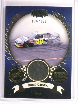 2011 Press Pass Eclipse Burning Rubber Jimmie Johnson tire #D36/150 *72888