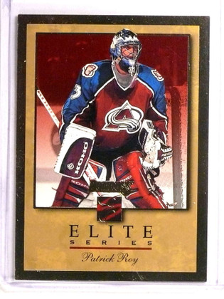 1996-97 Donruss The Elite Series Inserts Gold Patrick Roy #D774/2000 #10 *73325