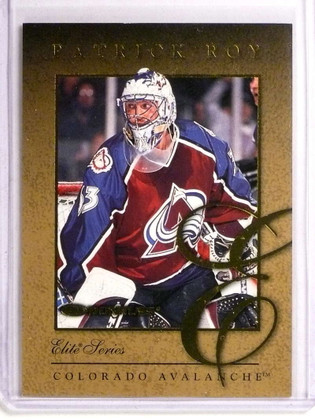 SOLD 20545 1997-98 Donruss The Elite Series Inserts Patrick Roy #D695/2500 #5 *73326