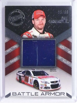 2014 Press Pass American Thunder Dale Earnhardt Jr Battle Armor Silver /99 *73928
