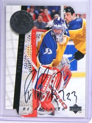 1995-96 Be A Player Autographs Die Cut Patrick Roy autograph auto #S197 *75205