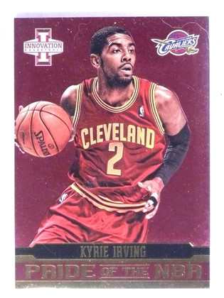 2012-13 Panini Innovation Pride of the NBA Kyrie Irving Rookie RC #4 *75483