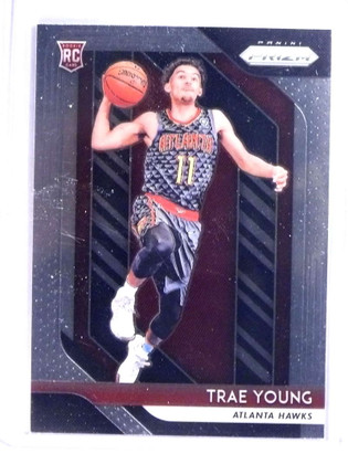 2018-19 Panini Prizm Trae Young Rookie RC #78 *76058