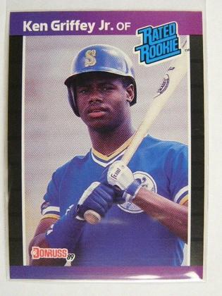 DELETE 684 1989 Donruss Ken Griffey Jr. rc rookie #33 *24589