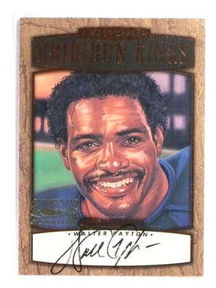 1999 Donruss All-Time Gridiron Kings Walter Payton autograph #D227/1000 *76912