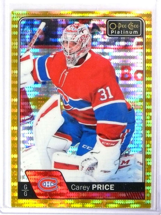 2016-17 O-Pee-Chee Seismic Gold Carey Price #D24/50 #125 *77880