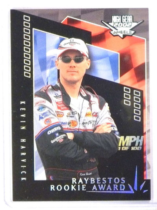2002 Wheels High Gear Raybestos MPH Kevin Harvick #M64 #D67/100 *77869
