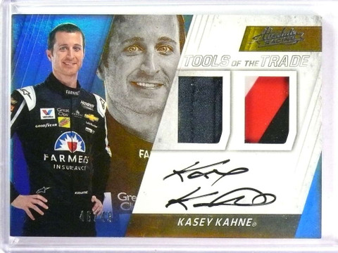 2017 Absolute Tools Trade Dual Kasey Kahne Autograph firesuit #D46/49 *77966