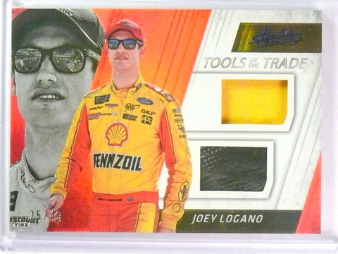 2017 Absolute Racing Tools Trade Red Joey Logano fireSuit tire #D25/49 *78055