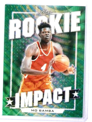 2019 Leaf Best Of Sports Rookie Impact Mo Bamba RC #D3/3 #10 *78087