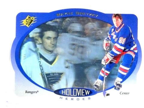 1996 Upper Deck SPX Holoview Heroes Wayne Gretzky #HH7 *78089