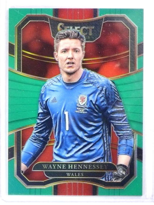 2017-18 Select Soccer Prizms Green Wayne Hennessey #D4/5 #71 *78075