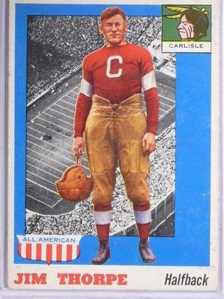 1955 Topps All American Jim Thorpe #37 VG *65673