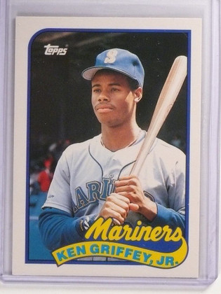 1989 Topps Traded Ken Griffey JR. Rookie RC #41T *51451