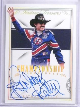 2016 National Treasures Championship Richard Petty Autograph #D03/25 #CSRP *6393