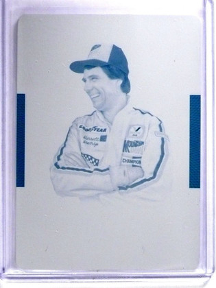 SOLD 8154 2016 National Treasures Printing Plate Cyran Darrell Waltrip #D1/1 #40 *64319