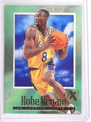 SOLD 11604 96-97 Fleer Skybox EX 2000 Kobe Bryant rc rookie #30 *50545