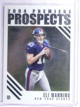 2004 Topps Chrome Premiere Prospects Eli Manning Rookie RC #PP5 *62605