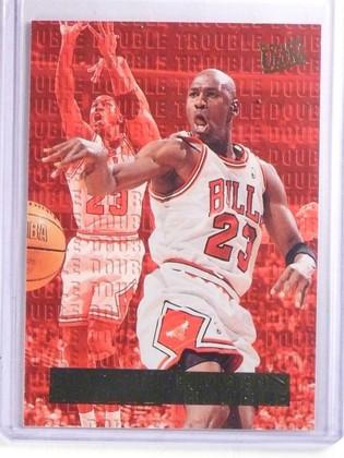 1995-96 Fleer Ultra Double Trouble Michael Jordan #3 *66625