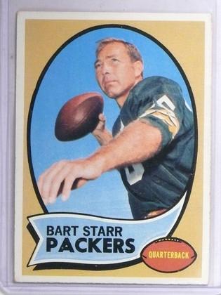 SOLD 11892 1970 Topps Bart Starr #30 Vg-EX  *60791
