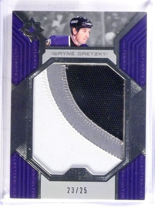 2004-05 Ultimate Collection Wayne Gretzky All-Star Patch jumbo #D23/25 #UP-WG2 *