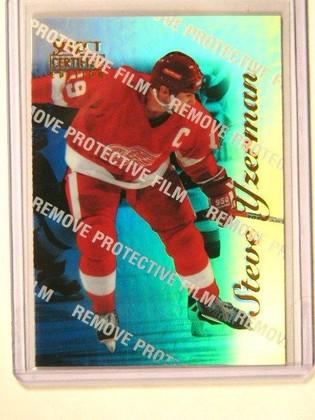 96-97 Select Certified Mirror Blue Steve Yzerman #41 *41544