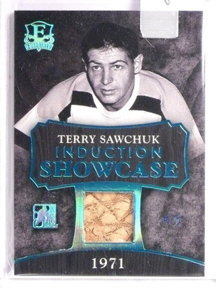 SOLD 8823 2016 Leaf Enshrined Induction Showcase Terry Shawchuk glove #D4/5  *55135
