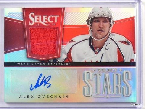 13-14 Panini Select Stars Alex Ovechkin autograph auto jersey #D12/20 #ST-OV *42